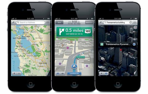 Google-Maps-en-el-iPhone-5